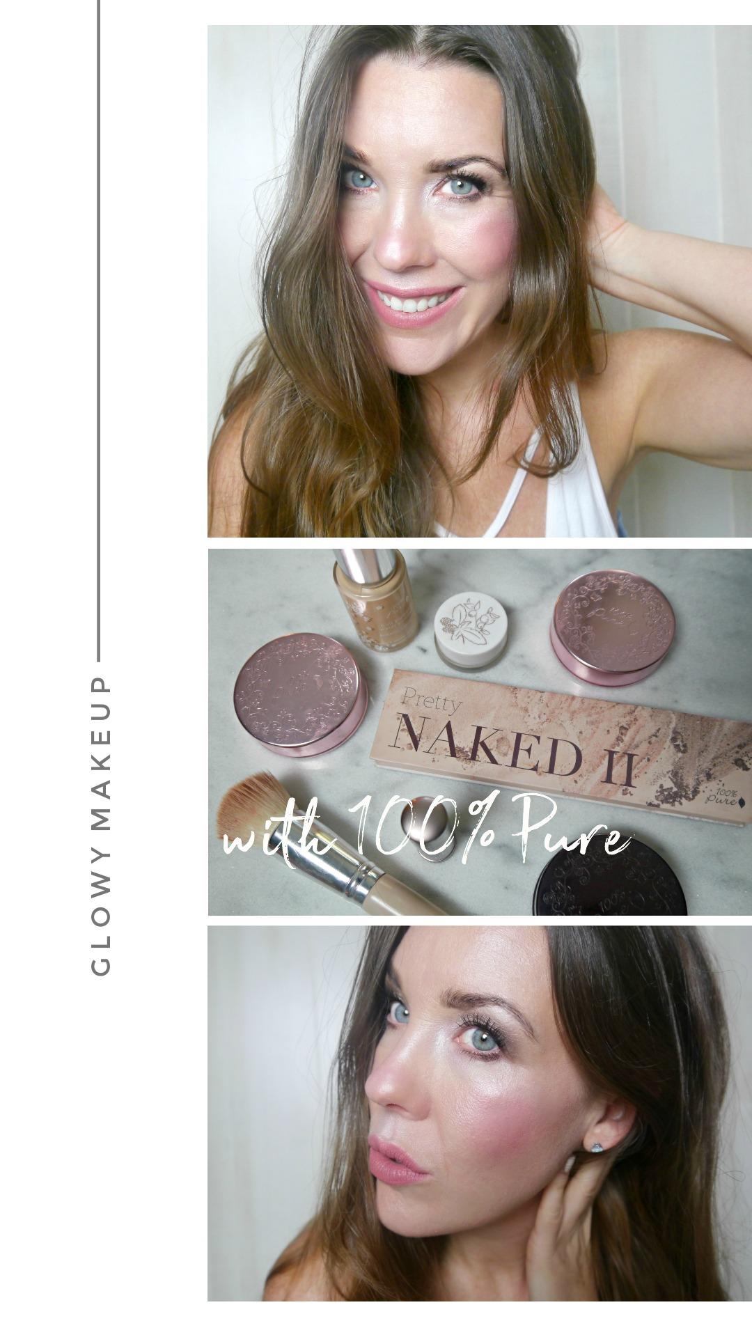 100% Pure Glowy Makeup