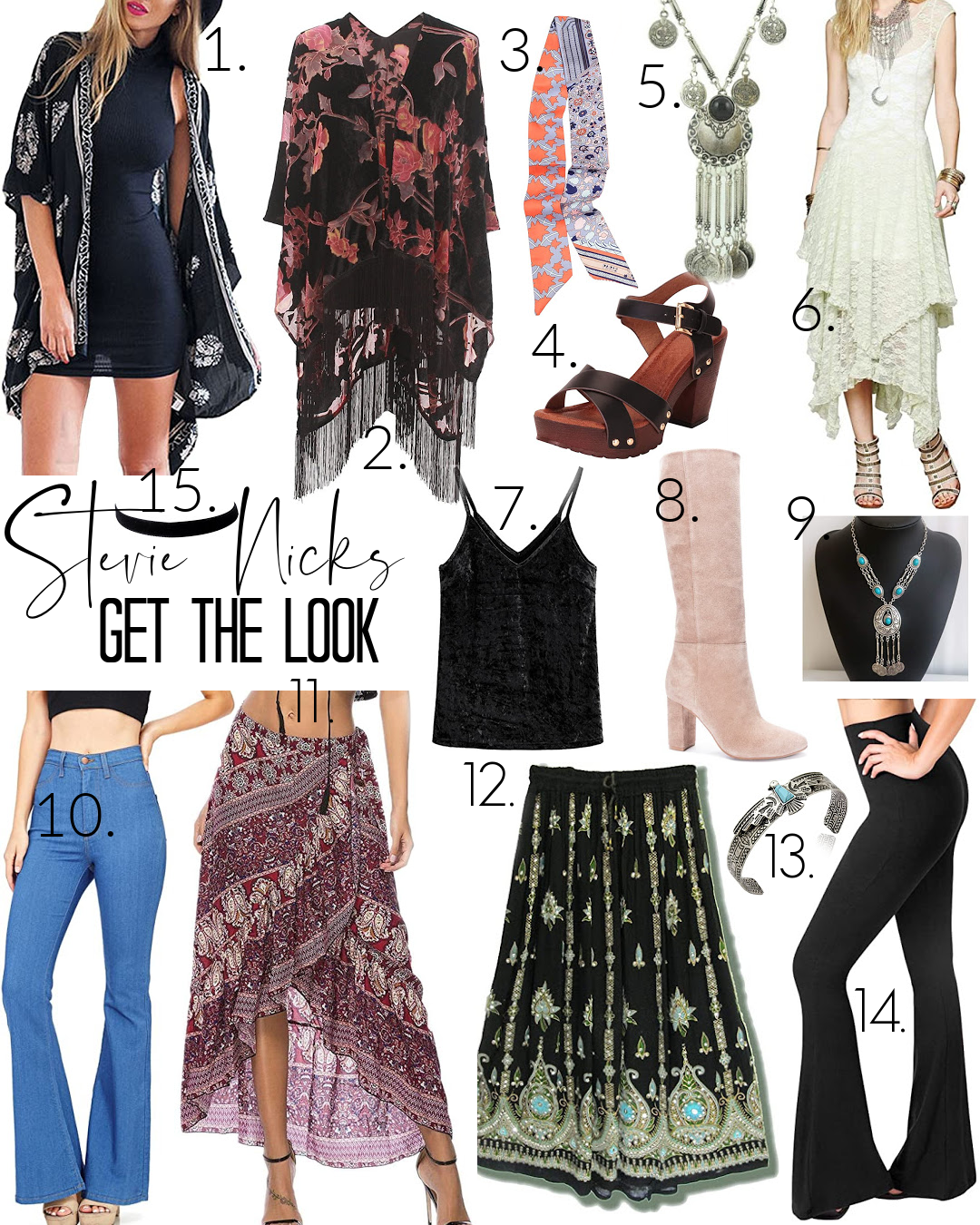 Get the Look:Style Icon-Stevie Nicks (plus a playlist!) – Stealing